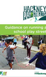 Thumbnail of new 'Guidance on running a play street' document